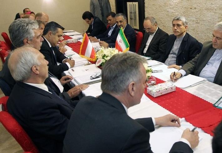 Iran-Austria-Economy-Ministers