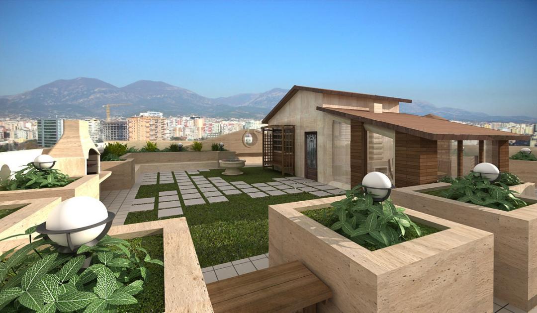 Roof Gardens In Tehran