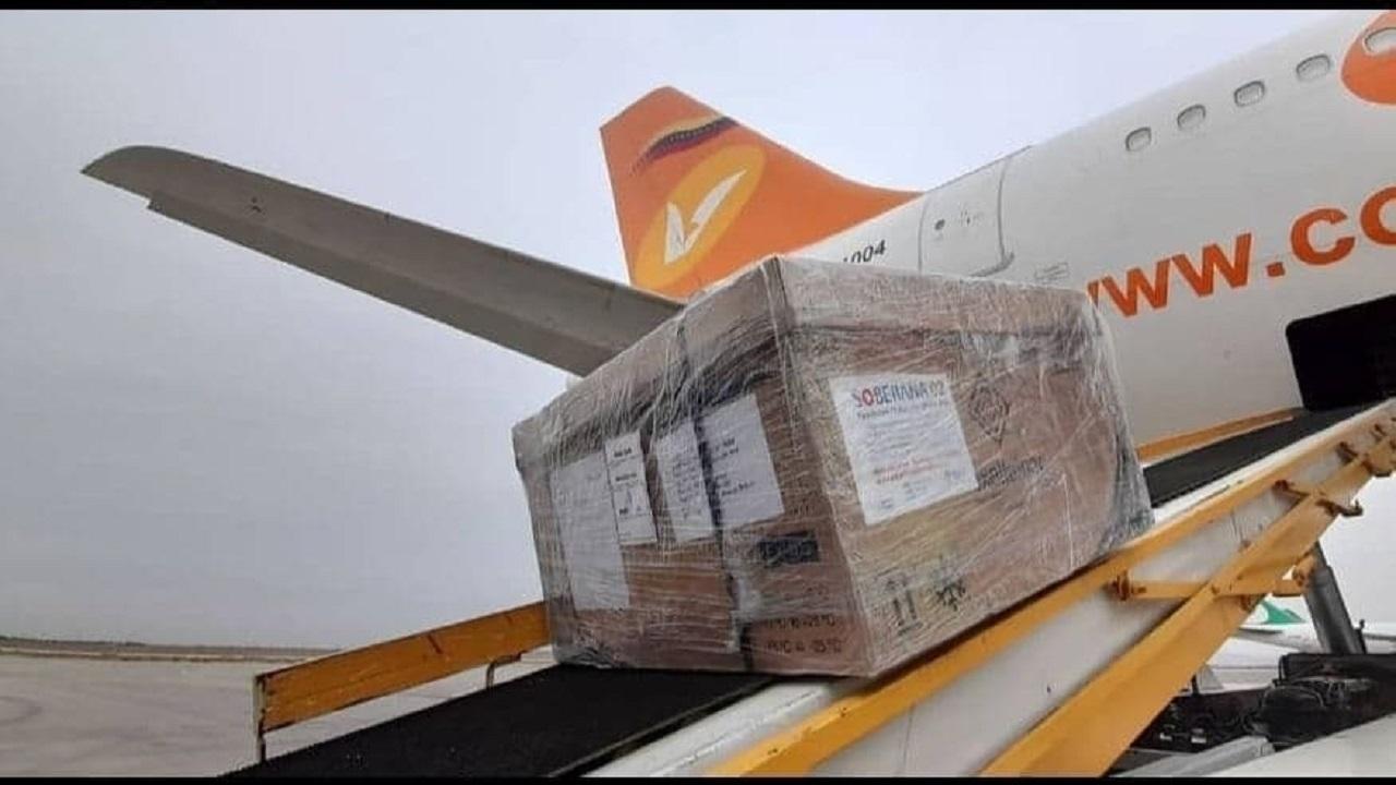 Soberana 02 auf dem Weg in den Iran | Bildquelle: https://financialtribune.com/articles/national/107857/iran-cuba-vaccine-arrives-for-3rd-phase-of-clinical-trials © NA | Bilder sind in der Regel urheberrechtlich geschützt