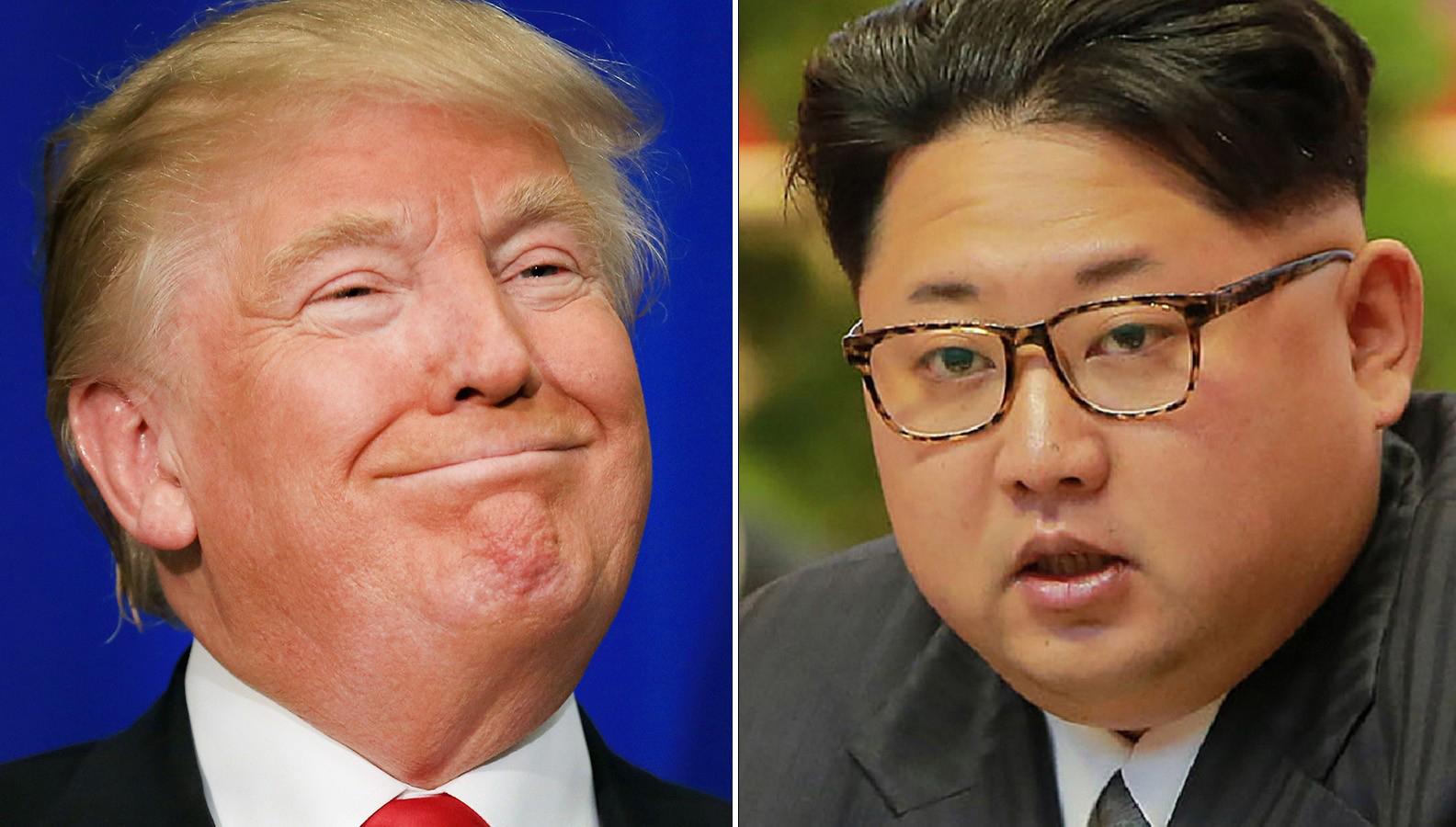 donald trump takes dig at short and fat kim jong un