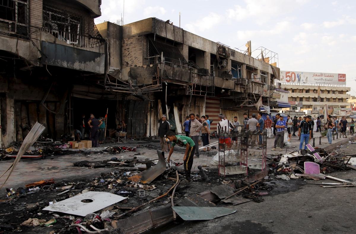Car Bomb Baghdad Airport