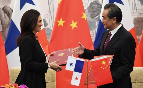 This country suspended its diplomatic ties with Taiwan for China