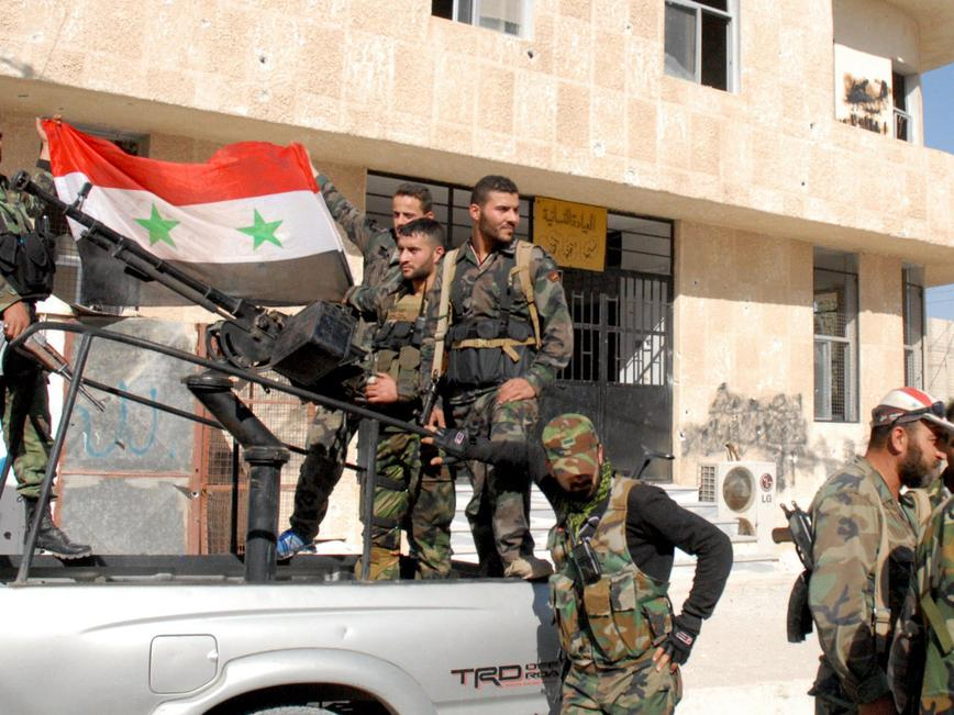 Central Intelligence Agency did not end Syria rebel support 'to appease Russia'
