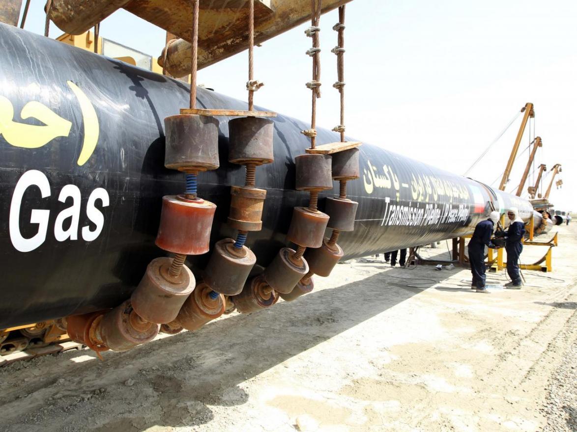 Iran Pakistan India gas pipeline project