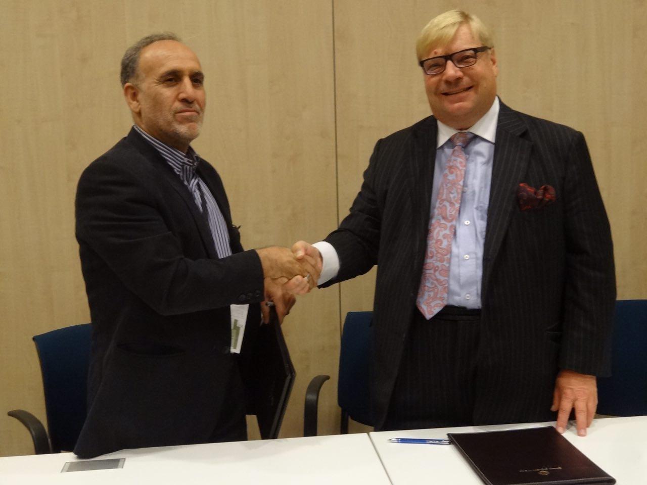 Iranian Finnish Ecas Sign Wide Ranging Agreement Financial Tribune