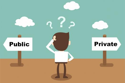 differentiating between public and private organizations What is the difference between a private foundation and a public charity every section 501(c)(3) organization is classified as either a private foundation or a public charity private foundations and public charities are distinguished primarily by the level of public involvement in their activities.