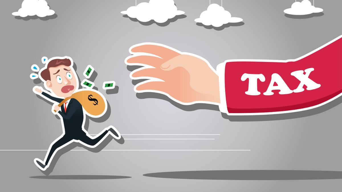Cnu Taxman - Federal Tax Clipart - Png Download (#5742149) - PinClipart