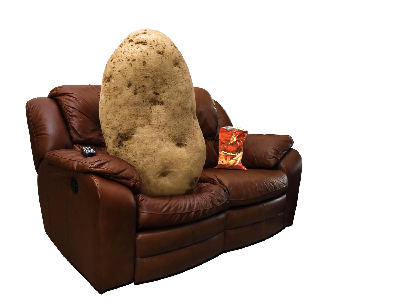 Couch potatoes face dementia financial tribune for Couch potato sofa bangalore