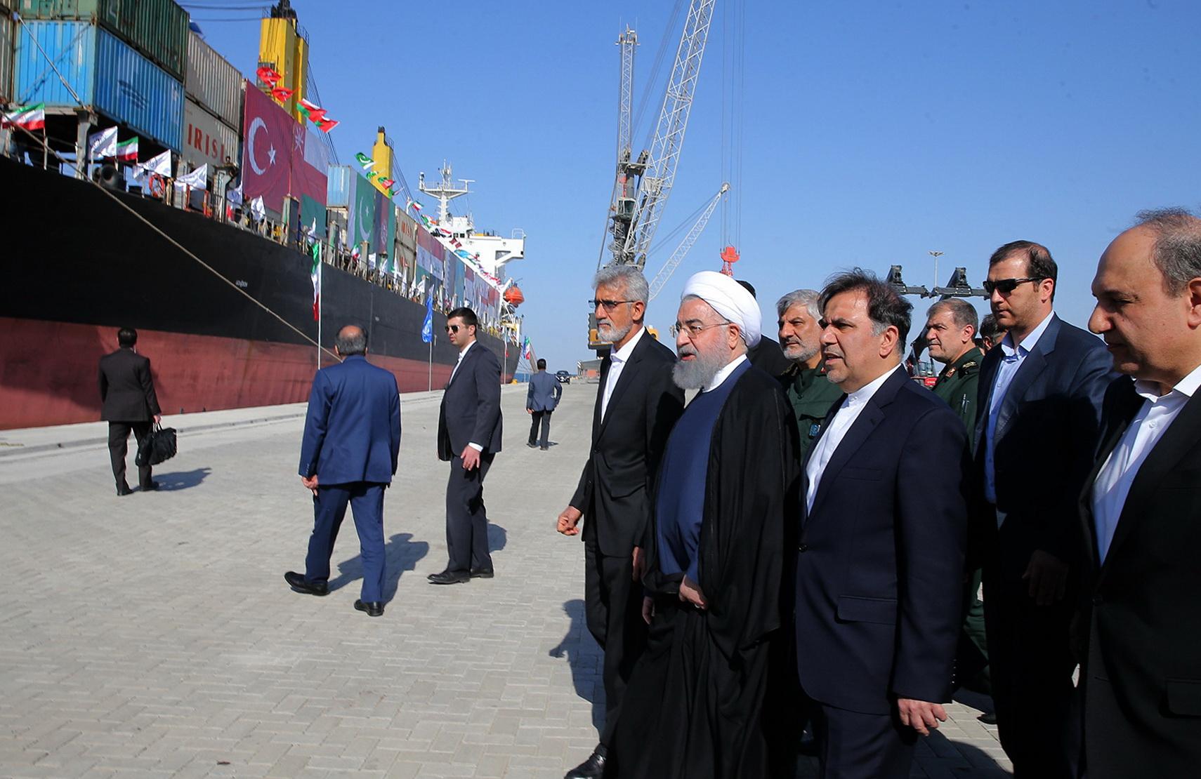 Iran inaugurates new Indian Ocean port