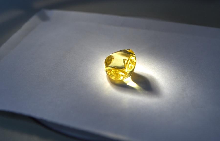 Carat Yellow Diamond Ring