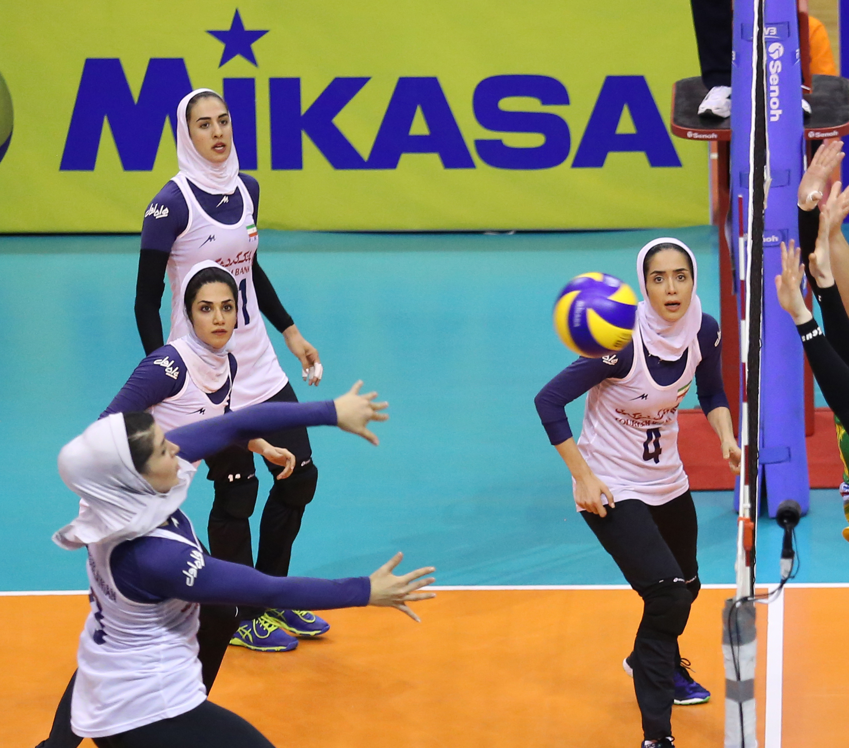 Women Volleyball Team Beats Australia 3-1 | Financial Tribune