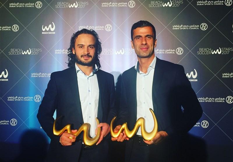 Iran's Peyman Hosseini Wins Beach Soccer Best Goalkeeper of the Year