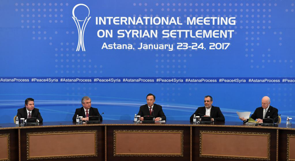 Start of Syria talks in Astana delayed by one day