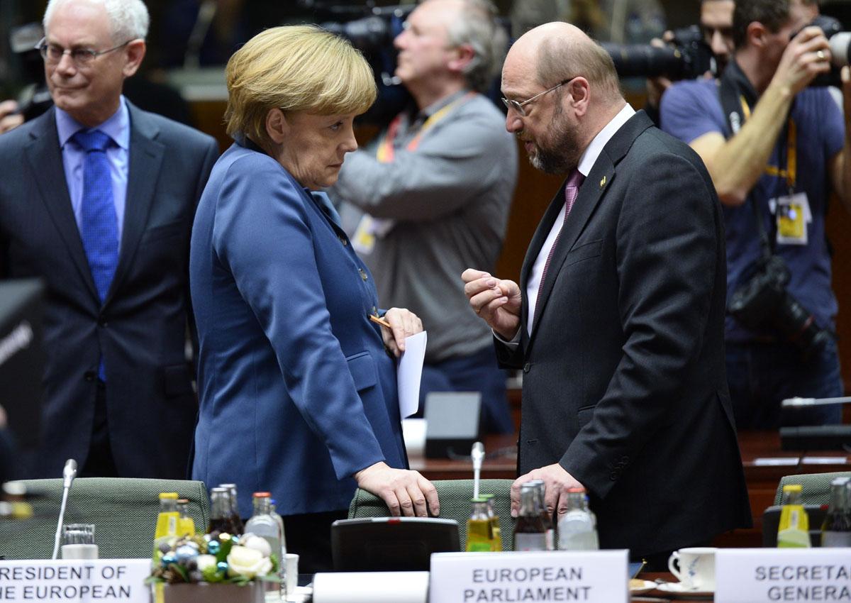 Martin Schulz Merkel