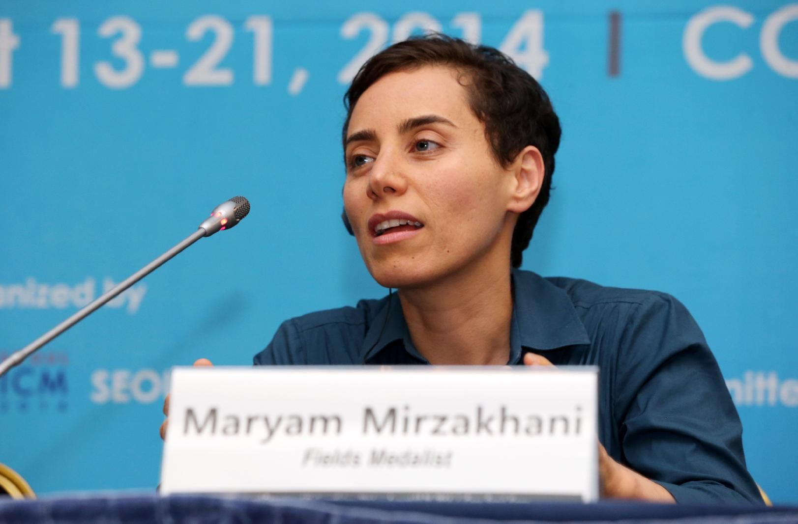 Maryam Mirzakhani, first woman to win mathematics' Fields Medal, dies at 40