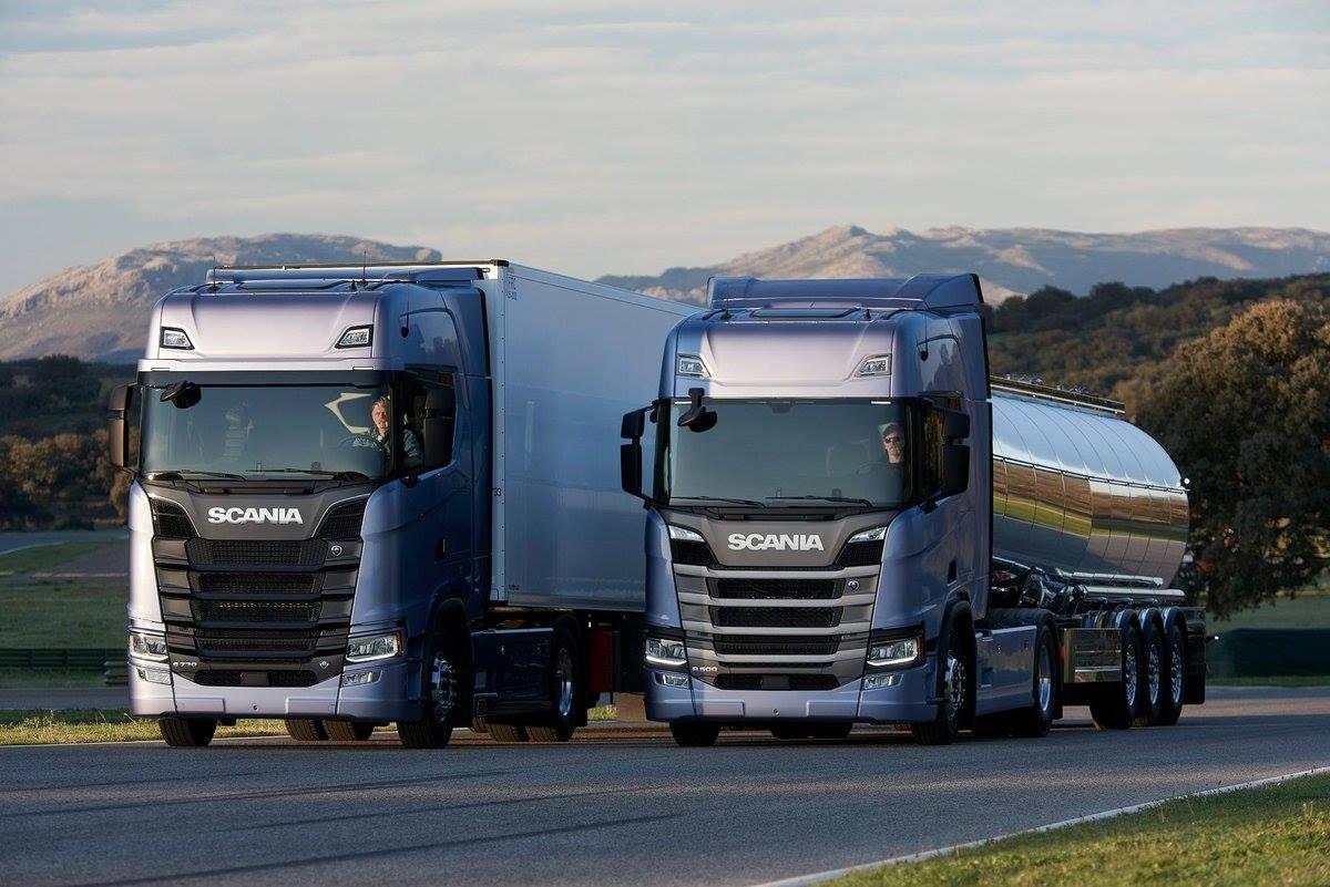 New Scania Trucks Set to Enter Iran in 2019   Financial Tribune
