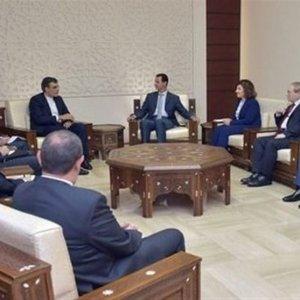 Senior Diplomat Meets Syria's Assad