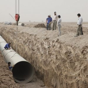 Iran: Water Transfer From Persian Gulf  to 3 Provinces Halfway Through