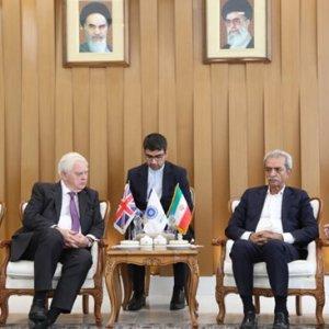 Iran, UK Renew Trade Commitments
