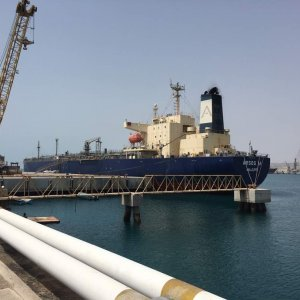 Large Oil Vessel Anchors in Chabahar