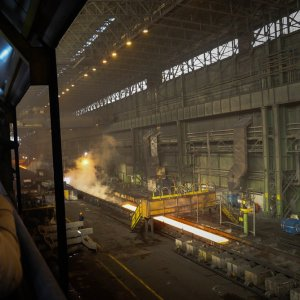 Iranian steelmakers have experienced a very good fiscal year so far with solid growth registered, except for two months.