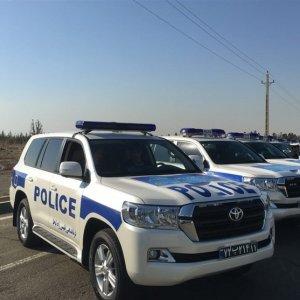 Toyota Land Cruiser for Iranian Police Fleet