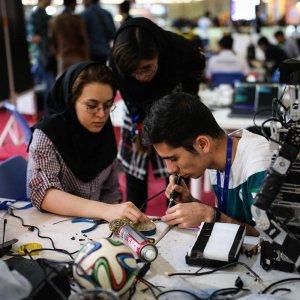 International RoboCup Winds Up in Tehran