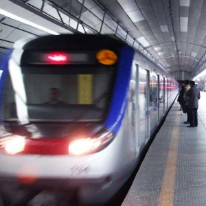 Tehran metro transports 40 million people on a monthly basis.