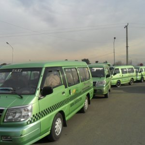 There are more than 7,000 taxi vans on the verge of falling apart in the capital.