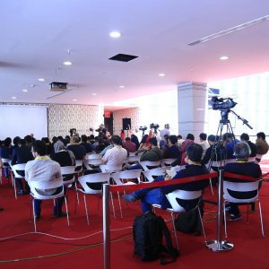 A talent campus session was held during the 2016 FIFF at Tehran's Charsou Cineplex.