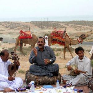 Desert Music Festival in Spring