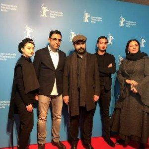 From left: Negar Moghaddam, Pooya Badkoobeh, Ali Mosaffa, Yasna Mirtahmasb and Shabnam Moghaddami in Berlin.