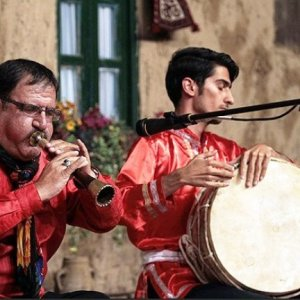 Sorna is an ancient Iranian woodwind instrument.