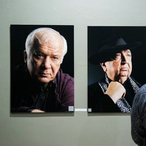 Photos of Theater Figures at Artists Forum