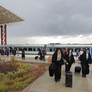 Hamedan Tourist Train Hits the Tracks