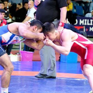 Wrestlers Finish Second at World Military Championships