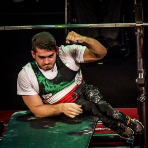 Para Powerlifter Clinches Gold, Sets New Junior World Record