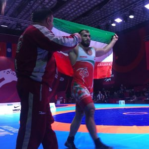 2 Gold, 2 Silver for Iran Greco-Roman Wrestlers