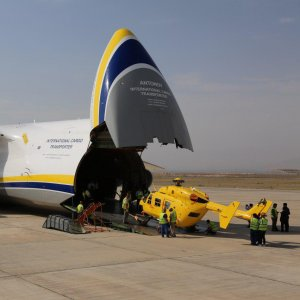 Iran expects the delivery of four more air ambulances.
