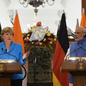 Modi, Merkel  on Fast-Track