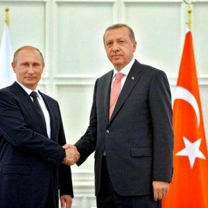 Putin Meets Erdogan for Closed-Door Talks
