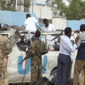10 Dead in Bomb Attack on UN Bus in Somalia
