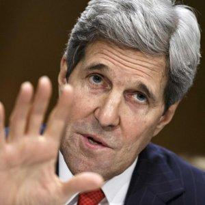 Kerry Meets Persian Gulf Arabs on Iran, Syria