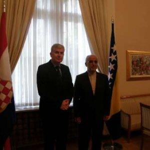 Envoy, Bosnia Official Confer on Ties