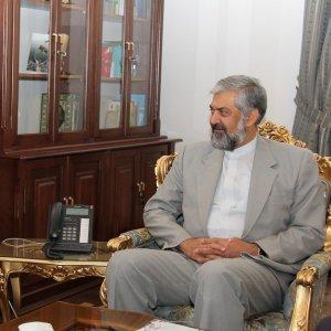 Senior Diplomat, Indonesia Envoy Confer