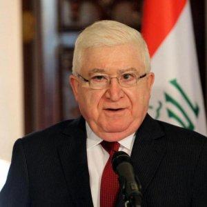 Iraq President Due