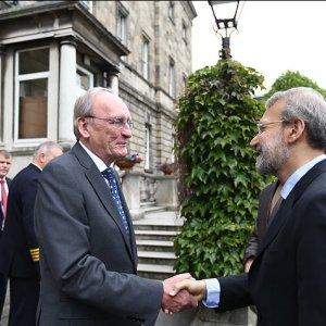 Larijani in Dublin to  Explore Enhanced Relations