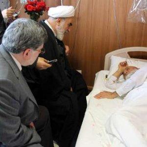 Leader's Representative Visits Cleric