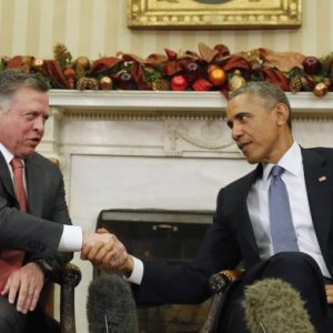 Obama, Jordan's King Discuss P5+1 Talks
