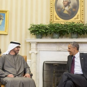 Obama, UAE Official Discuss Iran
